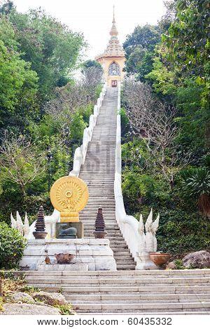 Buddhist Temple On Wat Yan
