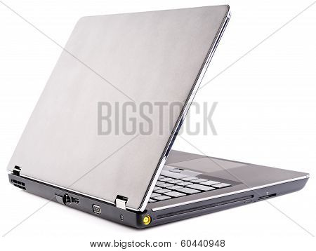 Laptop Rear Isometric View