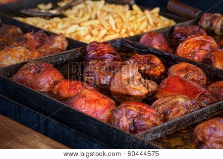 Barbecue BBQ food