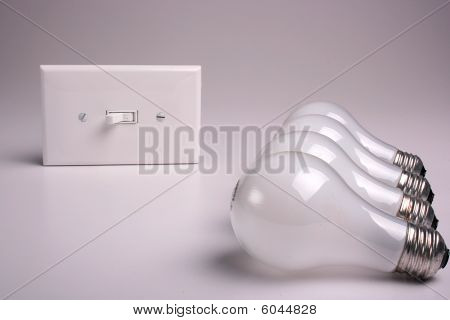 Matte electric bulbs