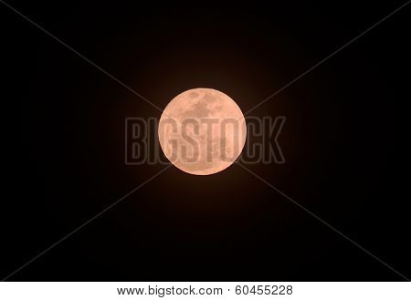 Beautiful Pinky Moon