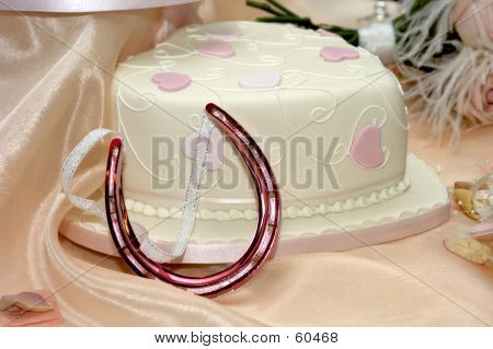 Cake And Horse Shoe
