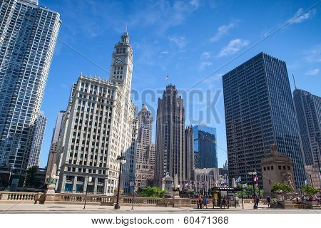 Wrigley Building In Chicago