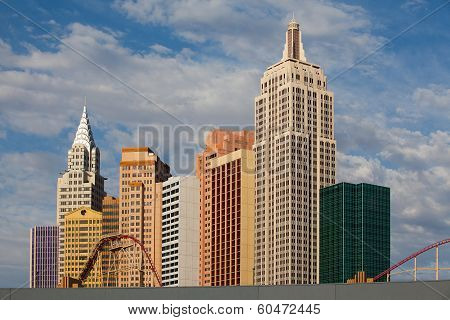 new York-new York On The Las Vegas Strip