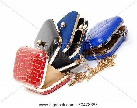 Fashionable Female Open Handbags