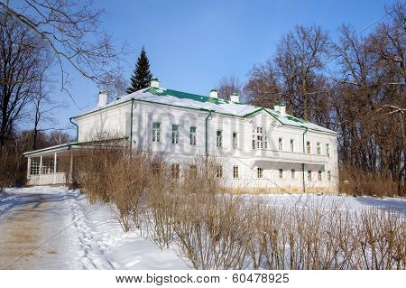 House of Leo Tolstoy in Yasnaya Polyana. Tula, Russia