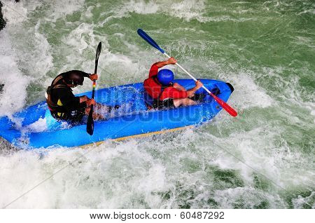 Rafters On Rapids