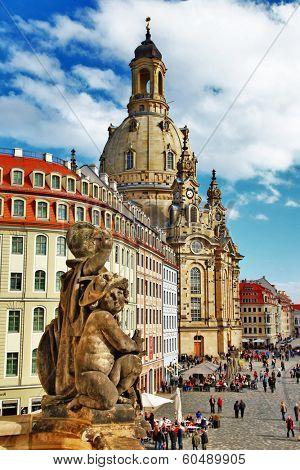 beautiful elegant Dresden