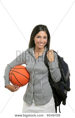 Adorable Young Woman Student Businesswoman