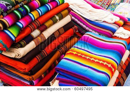Colorful Handwoven Guatemalan Textiles