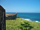 Ocean view from Castillo de San Cristobal