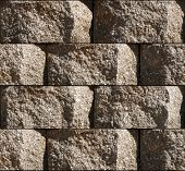 picture of cinder block  - Seamless repeating rough surface cinderblock tile background - JPG