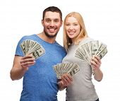 stock photo of holding money  - finance - JPG