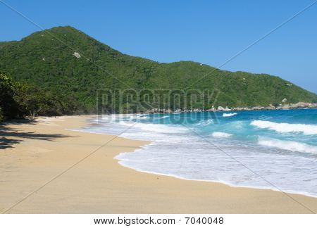 Nudist Beach, Tayrona National Park, Colombia