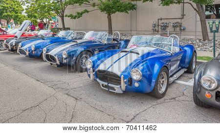 Shelby AC Cobras At The Woodward Dream Cruise