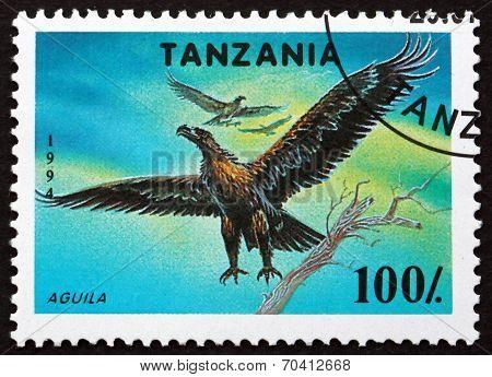 Postage Stamp Tanzania 1994 Osprey, Bird Of Prey
