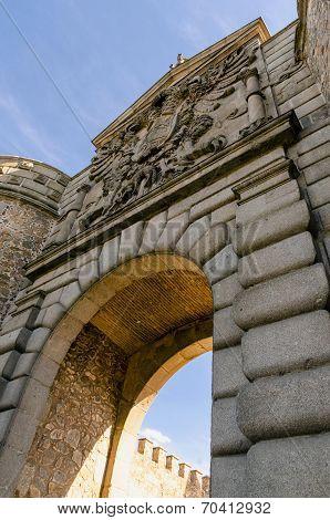 Bisagra Gate Detail