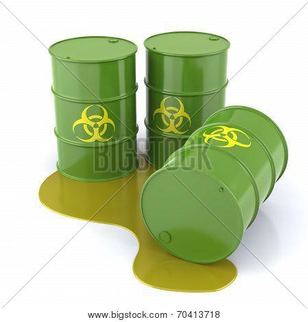 Bio Hazard Barrels
