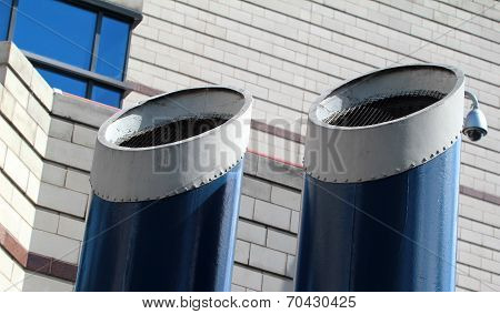 Two funnels