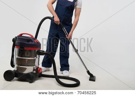 Janitor depriving you from dirt