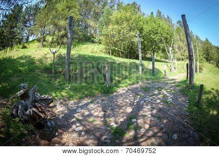 Celtic Sacrificial Place At Havranok - Slovakia