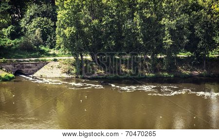 Water Pollution In River
