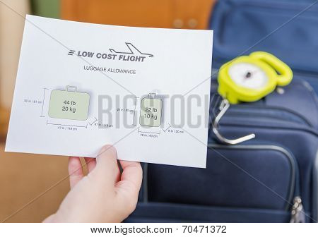 Low cost airlines luggage restrictions