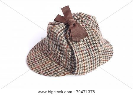 Deerstalker Or Sherlock Holmes Cap