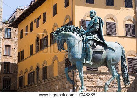 Statue Of The Rider Cosimo
