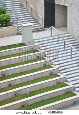 Park Landscape Stone stairs