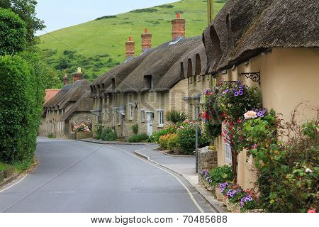 Houses In The Little Village Lulworth