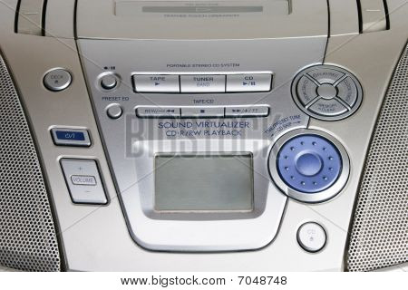 Portable Cd Player Controls