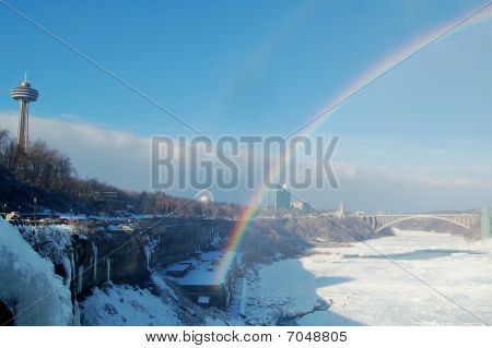 Rainbow Over Niagara Gorge