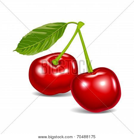 cherry red aroma food fruit
