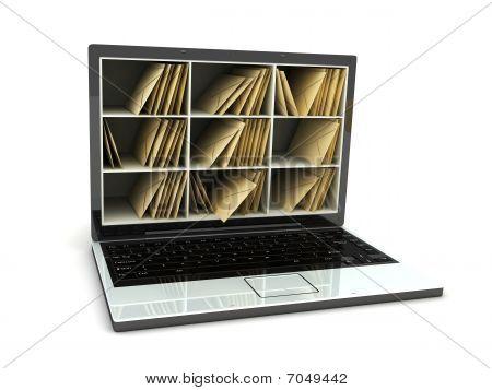Laptop Post
