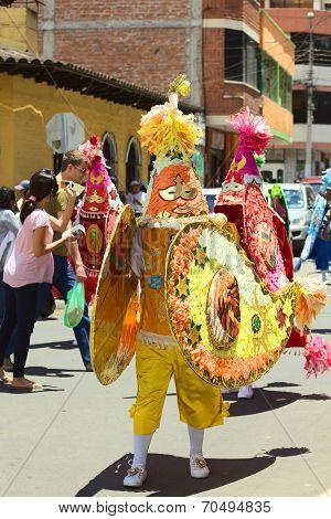 Carnival Parade in Banos, Ecuador