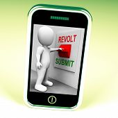 picture of revolt  - Revolt Submit Switch Showing Revolution Or Submission - JPG