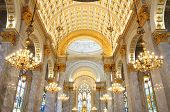 foto of church interior  - Interior Inside A Catholic Church - JPG