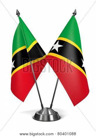 Saint Kitts - Miniature Flags.