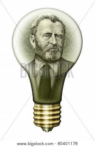 Ulysses S. Grant Money Bulb
