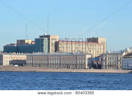View Of St. Petersburg.