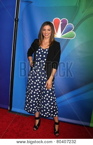 LOS ANGELES - DEC 16:  Bianca Kajlich at the NBCUniversal TCA Press Tour at the Huntington Langham Hotel on December 16, 2015 in Pasadena, CA