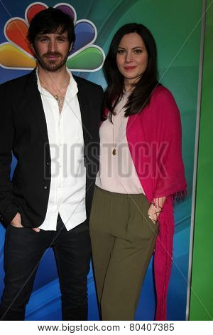 LOS ANGELES - DEC 16:  Eoin Macken, Jill Flint at the NBCUniversal TCA Press Tour at the Huntington Langham Hotel on December 16, 2015 in Pasadena, CA