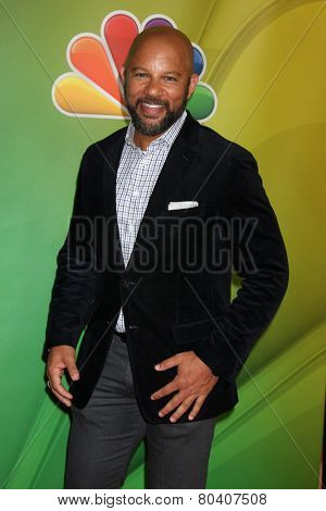 LOS ANGELES - DEC 16:  Chris WIlliams at the NBCUniversal TCA Press Tour at the Huntington Langham Hotel on December 16, 2015 in Pasadena, CA