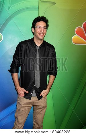 LOS ANGELES - DEC 16:  Rick Glassman at the NBCUniversal TCA Press Tour at the Huntington Langham Hotel on December 16, 2015 in Pasadena, CA