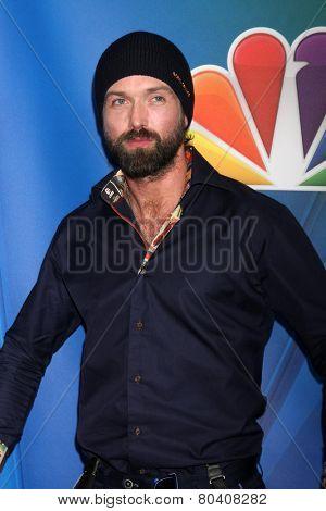 LOS ANGELES - JAN 16:  Emmett J Scanlan at the NBC TCA Winter 2015 at a The Langham Huntington Hotel on January 16, 2015 in Pasadena, CA