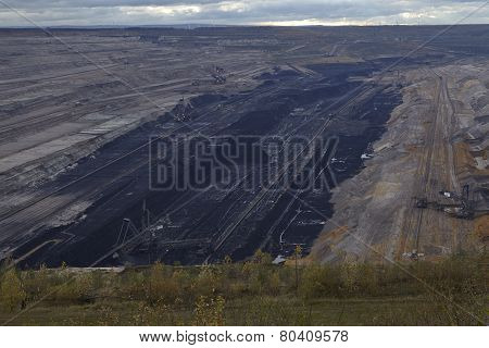 Soft Coal Open Cast Mining Hambach (germany)
