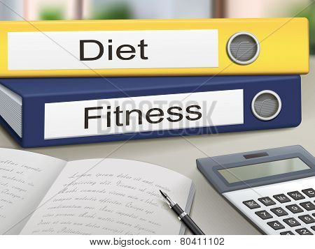 Diet And Fitness Binders