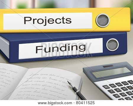 Projects And Funding Binders