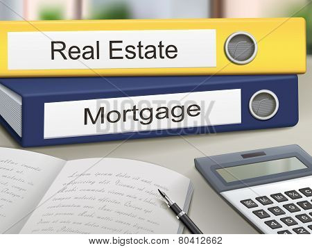 Real Estate And Mortgage Binders
